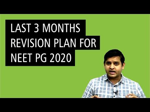 Neet PG 2020 Last time Preparation Tips by DBMCI expert Dr. Rajat Jain