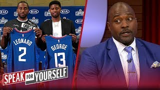 Whitlock and Wiley react to Clippers officially introducing Kawhi & PG | NBA | SPEAK FOR YOURSELF
