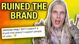 JUVIA'S PLACE RECEIVES BACKLASH AFTER POSTING JEFFREE STAR'S REVIEW