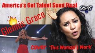 Glennis Grace: Dutch Singer Delivers HOT Semi-final Performance!   AGT 2018 Reaction