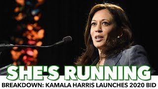 Breakdown: Kamala Harris Launches 2020 Bid