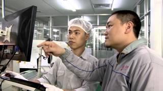 Qui trình sản xuất đèn LED hiện đại - Rạng Đông