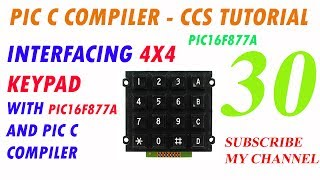 PIC 16f877a 6 digit 8x8 matrix clock using max7219