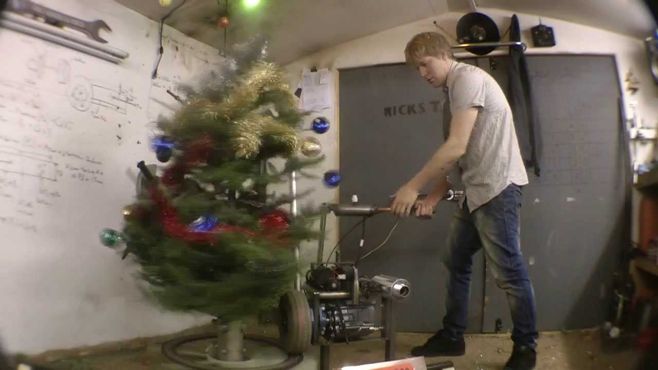 A NEW way to take down the xmas decorations, The UnDecor ...