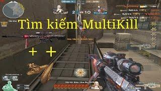 [ Bình Luận CF ] Kiếm tìm MultiKill cùng 3z VIP + Nhẫn Rắn - Tiền Zombie v4