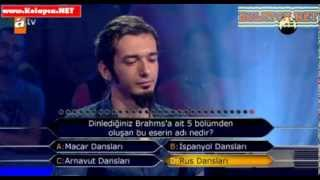 Kim Milyoner Olmak Ister 270. bölüm Ali Arslan Gündoğdu 09.10.2013