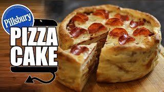 Pillsbury Pepperoni Pizza Cake Recipe - HellthyJunkFood