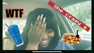 Sonic Mukbang | Story time: my dad's PSYCHO girlfriend