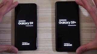Samsung Galaxy S9 vs S9 Plus - Speed Test! 4gb vs 6gb RAM!