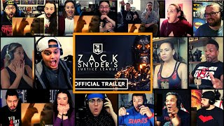 Zack Snyder's Justice League Final Trailer Reactions Mashup