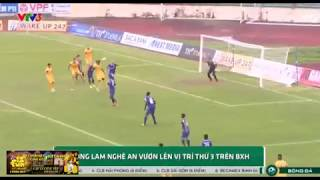 CLB Sông Lam Nghệ An Vươn Lên Vị Trí Thứ 3 Bảng Xếp Hạng V.League 2019