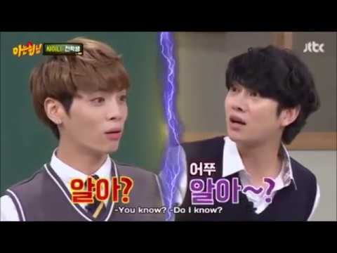 Male groups on Knowing brother - Part 1