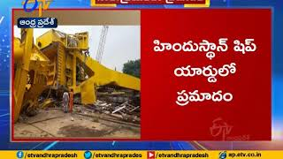 Video: 10 killed as giant crane collapses at Hindustan Shi..