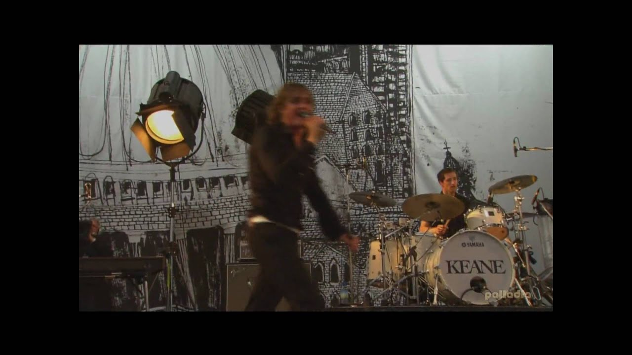 Keane Hd: Somewhere Only We Know [Glastonbury] [HD