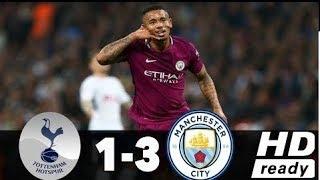 Tottenham vs Manchester City 1 - 3   Premier League 14/04/2018
