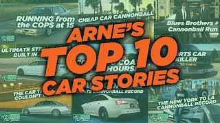 Top 10 Car Stories of Arne's Antics