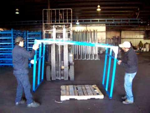 Truck Decking Rack 2