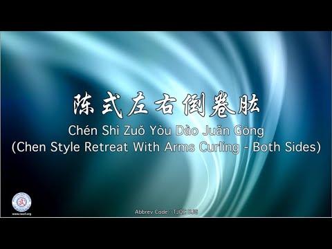Chén Shì Dào Juǎn Gōng TJQC DJG (Chen Style Retreat with Arms Curling)