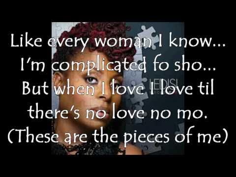Ledisi pieces of me lyrics
