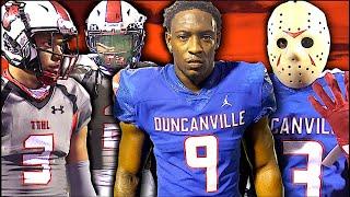 #1 Duncanville vs #3 Cedar Hill | Texas High School Football | Two Powerhouse Teams Square Off  🔥 🔥