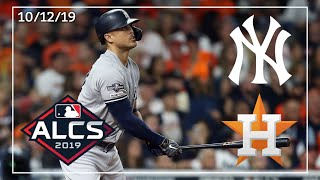 New York Yankees @ Houston Astros | ALCS Game 1 Highlights | 10/12/19