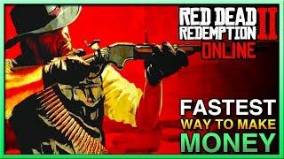 Red Dead Redemption 2 Online - BEST WAY TO MAKE MONEY in Red Dead Online! Easy Money in RDR2 Online!