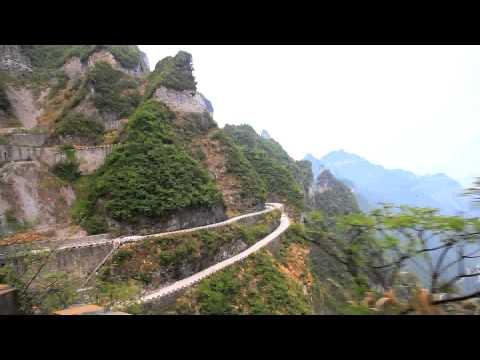 Vožnja najopasnijim putem u Kini