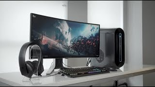 "New Alienware 27"" Gaming Monitor & 34"" Curved Gaming Monitor"