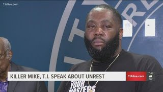 Killer Mike and T.I. make the case for protecting Atlanta
