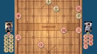10 ván cờ tướng hay nhất 2014 Vương Thiên Nhất và Hồng Trí 7/10