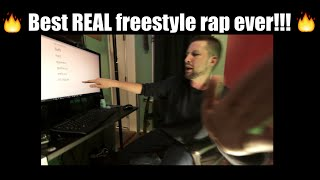 Best Real Freestyle Rap Ever! (Learn how to freestyle tutorial)