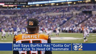 Le'Veon Bell: Vontaze Burfict Has 'Gotta Go' After Appearing To Kick Steelers Player In Head