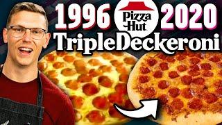 Recreating Pizza Hut's Discontinued Triple Deckeroni Pizza