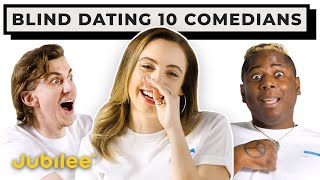 Speed Dating 10 Comedians Based on Their Jokes