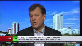'They have a history of corruption': Clinton Cash documentary author Peter Schweizer