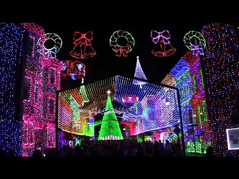 Osborne Spectacle Of Dancing Lights 2013 Walk Through At Walt Disney World - Smashpipe Travel