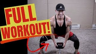 TOTAL Leg Workout At Home With Dumbbells (Strong Legs At Home!)