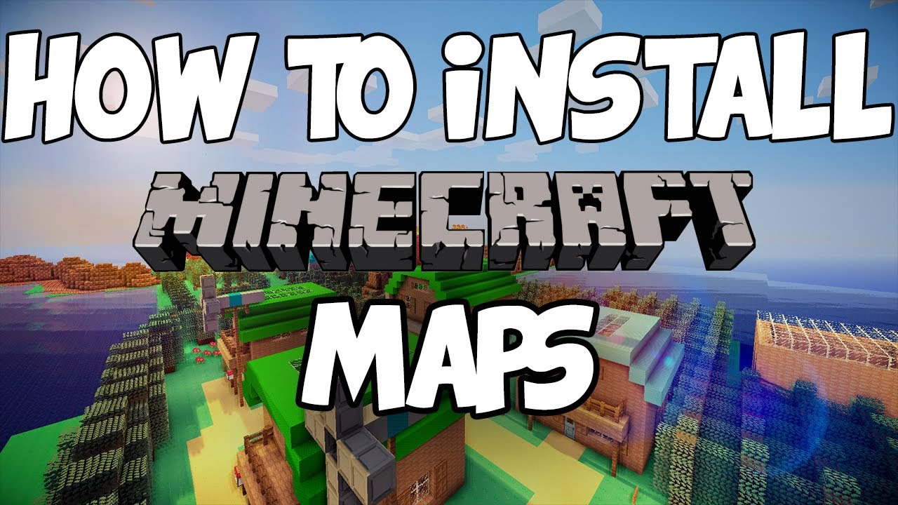 How to download minecraft maps on mac