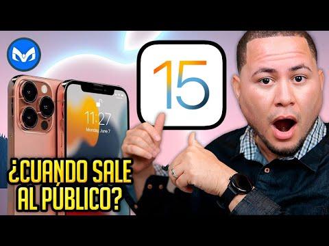 CUANDO SALE iOS 15 ???????