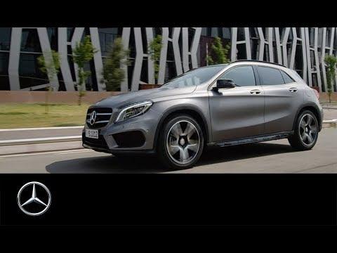 GLA - Das neue Kompakt-SUV von Mercedes-Benz