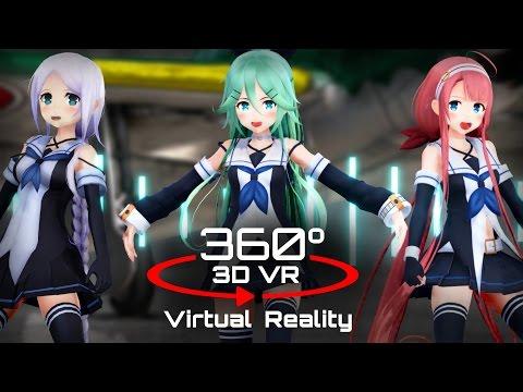 360 3D 4K | MMD WAVE ?VR? ???ver