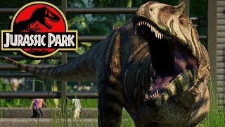 The History of the Metriacanthosaurus in the Jurassic Park Franchise