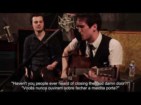 Panic! At The Disco - I Write Sins Not Tragedies(acústico) - Legendado-português/inglês