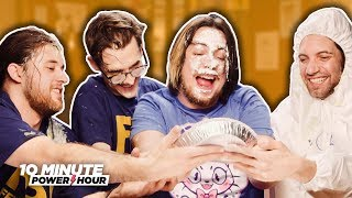 Newlywed Game VS SuperMega (PUNISHMENT EDITION) - Ten Minute Power Hour