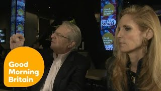 Debate Between Jerry Springer and Ann Coulter Turns Nasty | Good Morning Britain