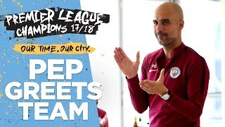 Pep's Speech To Players & Staff |