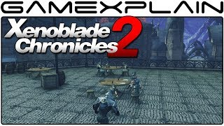 Xenoblade Chronicles 2 - Exploring the Town of Fonsa Myma Gameplay (Nintendo Switch)