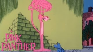 """The Pink Panther in """"Pink-Tails for Two"""""""