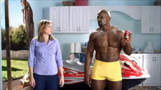 Terry Crews Old Spice Odor Blocker Body Wash commercial - Bounce