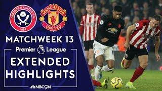 Sheffield United v. Manchester United | PREMIER LEAGUE HIGHLIGHTS | 11/24/19 | NBC Sports